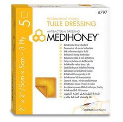 Εικόνα της Medihoney® Tulle Dressing (3ply 10x30)